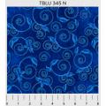 """Ткань для пэчворк (50x55см) 345N из коллекции """"True blue"""" """"P&B""""(США)"""