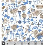 """Ткань для пэчворк (50x55см) 575B из коллекции """"Загородная жизнь"""" """"P&B""""(США)"""