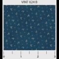 "Ткань для пэчворк (50x55см) 624B из коллекции ""Vintage Miniatures"" ""P&B""(США)"
