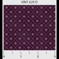 """Ткань для пэчворк (50x55см) 629D из коллекции """"Vintage Miniatures"""" """"P&B""""(США)"""