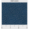 "Ткань для пэчворк (50x55см) 630B из коллекции ""Vintage Miniatures"" ""P&B""(США)"