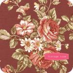 """Ткань для пэчворк 100D из коллекции """"Винтажная роза"""" """"P&B""""(США)"""