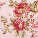 """Ткань для пэчворк 100P из коллекции """"Винтажная роза"""" """"P&B""""(США)"""