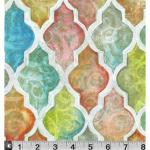 "Ткань для пэчворк (50x55см) 397MU из коллекции ""Wander blossoms"" ""P&B""(США)"