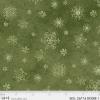 """Ткань для пэчворк (50x55см) 26714DKGRE из коллекции """"Winters friends"""" """"P&B""""(США)"""