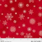 """Ткань для пэчворк (50x55см) 26714RED из коллекции """"Winters friends"""" """"P&B""""(США)"""