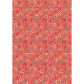 """Ткань для пэчворк (50x55см) ГР-04 из коллекции """"Грамотейка"""" """"Peppy"""""""
