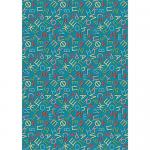 """Ткань для пэчворк (50x55см) ГР-05 из коллекции """"Грамотейка"""" """"Peppy"""""""