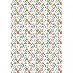 """Ткань для пэчворк (50x55см) ГР-06 из коллекции """"Грамотейка"""" """"Peppy"""""""