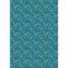 """Ткань для пэчворк (50x55см) ГР-08 из коллекции """"Грамотейка"""" """"Peppy"""""""