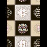 """Ткань для пэчворк (60x110см) КМ-01 из коллекции """"Крошки-Матрёшки"""" """"Peppy"""""""