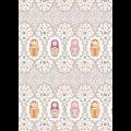"""Ткань для пэчворк (50x55см) КМ-02 из коллекции """"Крошки-Матрёшки"""" """"Peppy"""""""