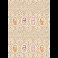 """Ткань для пэчворк (50x55см) КМ-04 из коллекции """"Крошки-Матрёшки"""" """"Peppy"""""""
