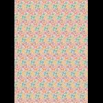 """Ткань для пэчворк (50x55см) КМ-13 из коллекции """"Крошки-Матрёшки"""" """"Peppy"""""""