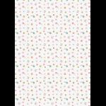 """Ткань для пэчворк (50x55см) КМ-17 из коллекции """"Крошки-Матрёшки"""" """"Peppy"""""""