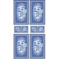 "Ткань для пэчворк (60x110см) ЛЧ-02 из коллекции ""Лазурное чудо"" ""Peppy"""