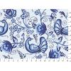 "Ткань для пэчворк (50x55см) ЛЧ-07 из коллекции ""Лазурное чудо"" ""Peppy"""