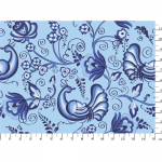 "Ткань для пэчворк (50x55см) ЛЧ-08 из коллекции ""Лазурное чудо"" ""Peppy"""