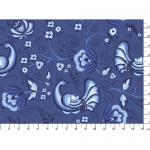 "Ткань для пэчворк (50x55см) ЛЧ-09 из коллекции ""Лазурное чудо"" ""Peppy"""