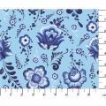 "Ткань для пэчворк (50x55см) ЛЧ-11 из коллекции ""Лазурное чудо"" ""Peppy"""