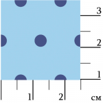 "Ткань для пэчворк (50x55см) ЛЧ-17 из коллекции ""Лазурное чудо"" ""Peppy"""