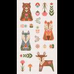 """Ткань для пэчворк (60x110см) ЛЖ-02 из коллекции """"Лесные жители"""" """"Peppy"""""""