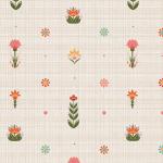 """Ткань для пэчворк (50x55см) ЛЖ-08 из коллекции """"Лесные жители"""" """"Peppy"""""""