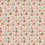 """Ткань для пэчворк (50x55см) ЛЖ-14 из коллекции """"Лесные жители"""" """"Peppy"""""""