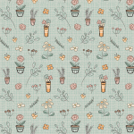 """Ткань для пэчворк (50x55см) МП-02 из коллекции """"Мартовская песня"""" """"Peppy"""""""