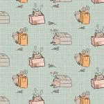 """Ткань для пэчворк (50x55см) МП-11 из коллекции """"Мартовская песня"""" """"Peppy"""""""