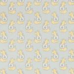 """Ткань фланель (100x110см) МС-03 серая из коллекции """"Молочные сны"""" """"Peppy"""""""