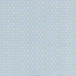 """Ткань фланель (100x110см) МС-07 голубая из коллекции """"Молочные сны"""" """"Peppy"""""""