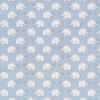"""Ткань фланель (100x110см) МС-22 голубая из коллекции """"Молочные сны"""" """"Peppy"""""""