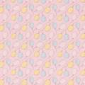 """Ткань фланель (100x110см) МС-26 розовая из коллекции """"Молочные сны"""" """"Peppy"""""""