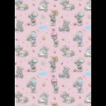 """Ткань для пэчворк (50x55см) MTY-21 из коллекции """"Лучшие моменты"""" """"Peppy"""""""