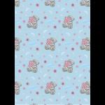 """Ткань для пэчворк (50x55см) MTY-26 из коллекции """"Лучшие моменты"""" """"Peppy"""""""
