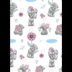 """Ткань для пэчворк (50x55см) MTY-28 из коллекции """"Лучшие моменты"""" """"Peppy"""""""