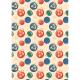 """Ткань для пэчворк (50x55см) НЧ-05 из коллекции """"Новогодние чудеса"""" """"Peppy"""""""