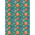 """Ткань для пэчворк (50x55см) НЧ-07 из коллекции """"Новогодние чудеса"""" """"Peppy"""""""