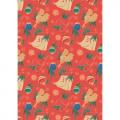 """Ткань для пэчворк (50x55см) НЧ-15 из коллекции """"Новогодние чудеса"""" """"Peppy"""""""