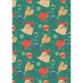 """Ткань для пэчворк (50x55см) НЧ-16 из коллекции """"Новогодние чудеса"""" """"Peppy"""""""