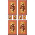 """Ткань для пэчворк (60x110см) РТ-02 из коллекции """"Русские традиции"""" """"Peppy"""""""