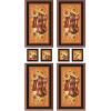 """Ткань для пэчворк (60x110см) РТ-03 из коллекции """"Русские традиции"""" """"Peppy"""""""