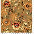 """Ткань для пэчворк (50x55см) РТ-10 из коллекции """"Русские традиции"""" """"Peppy"""""""