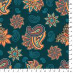 """Ткань для пэчворк (50x55см) СВ-15 из коллекции """"Сказочный восток"""" """"Peppy"""""""