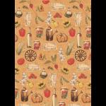 """Ткань для пэчворк (50x55см) УУ-03 из коллекции """"Удачный урожай"""" """"Peppy"""""""