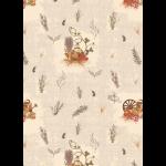 """Ткань для пэчворк (50x55см) УУ-05 из коллекции """"Удачный урожай"""" """"Peppy"""""""