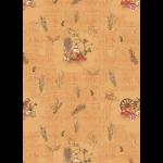 """Ткань для пэчворк (50x55см) УУ-06 из коллекции """"Удачный урожай"""" """"Peppy"""""""