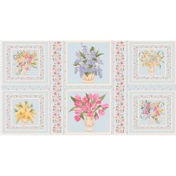 """Ткань для пэчворк (60x110см) ВЭ-02 из коллекции """"Весенний этюд"""" """"Peppy"""""""