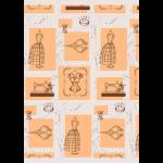 """Ткань для пэчворк (60x110см) ВМ-01 из коллекции """"Век моды"""" """"Peppy"""""""